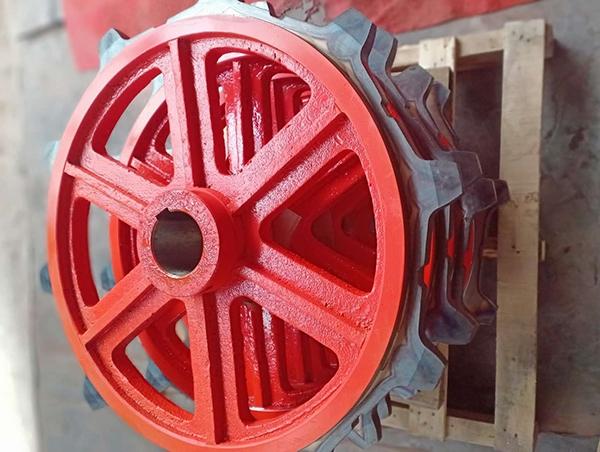 铸钢提升机链轮